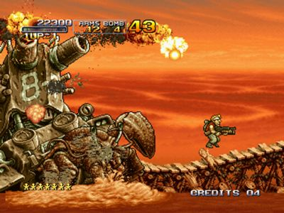Metal Slug on its way to Xbox Live Arcade