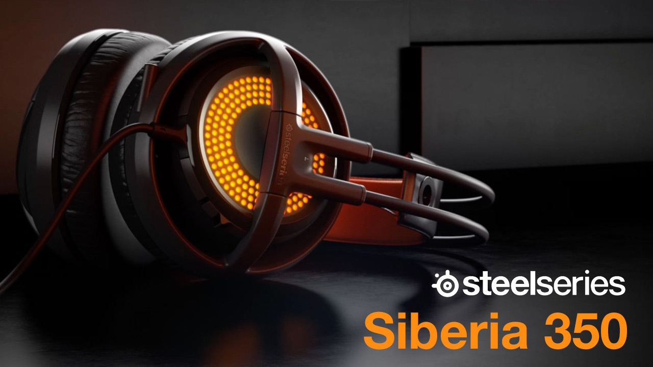 steelseries siberia 350 headset review console monster. Black Bedroom Furniture Sets. Home Design Ideas