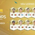 FIFA 16 – New FUT Legends