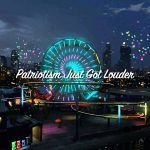 Grand Theft Auto V – The Independence Day Special — Fireworks