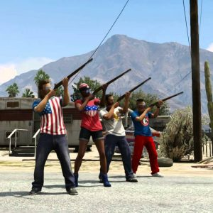 Grand Theft Auto V – The Independence Day Special — Musket