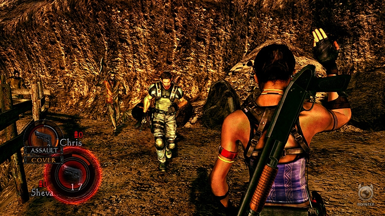 New Resident Evil 5 Screenshots
