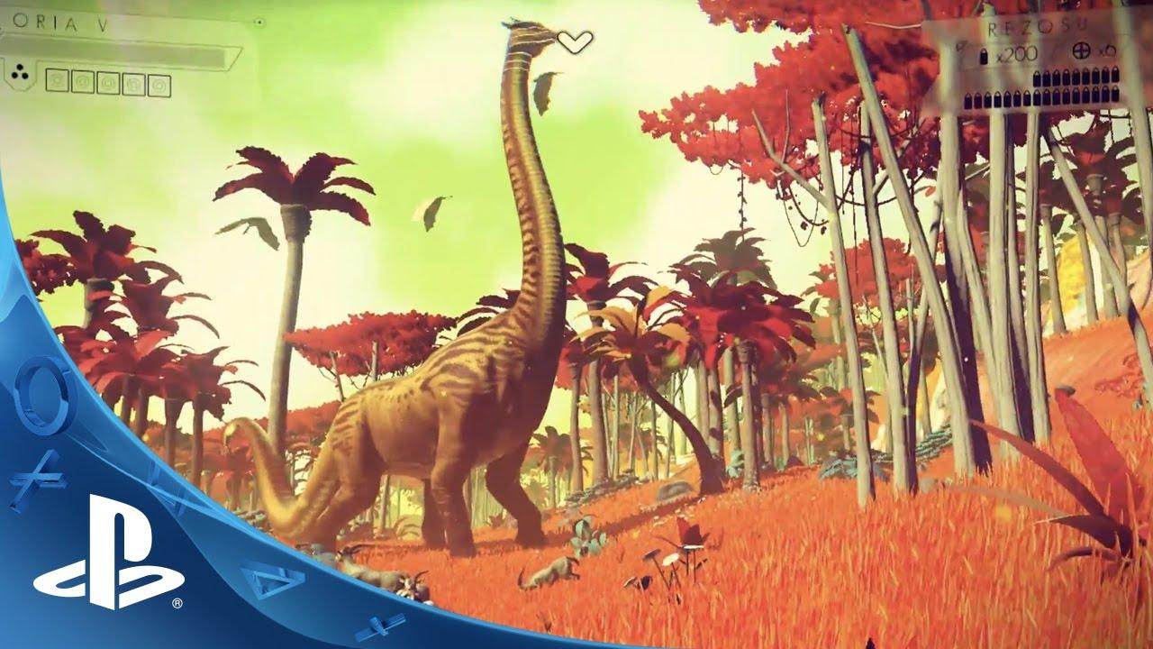 No Man's Sky – E3 2014 Gameplay Trailer