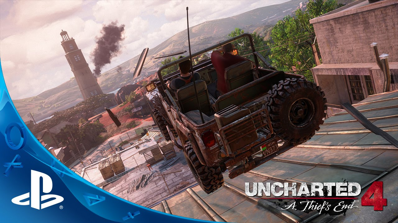 Uncharted 4: A Thief's End – Gameplay trailer E3 2015