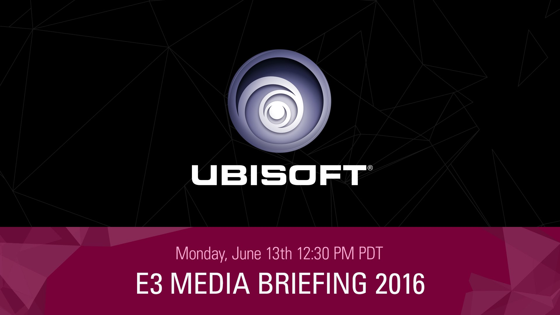 Playback Ubisoft's E3 Press Conference