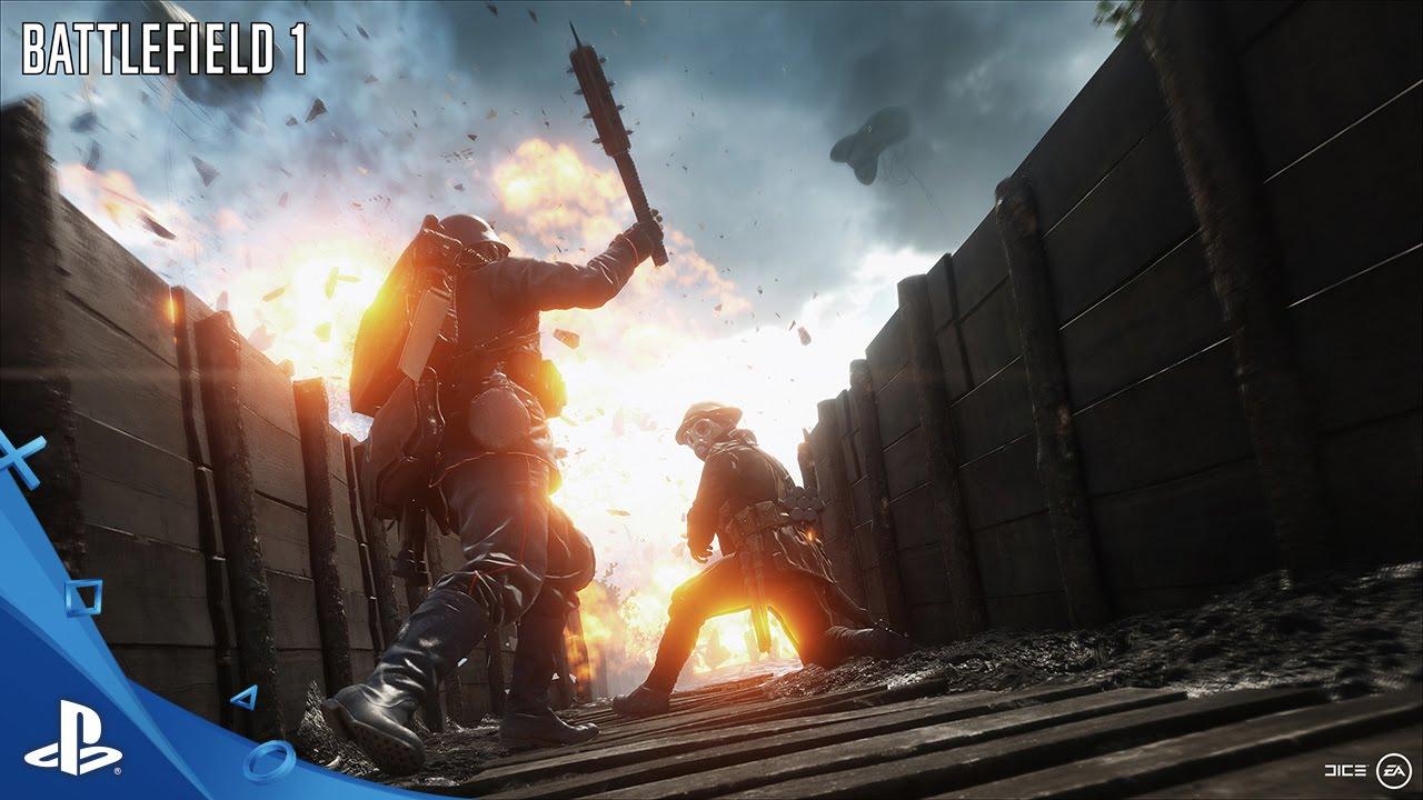 Battlefield 1 Weapons Featurette