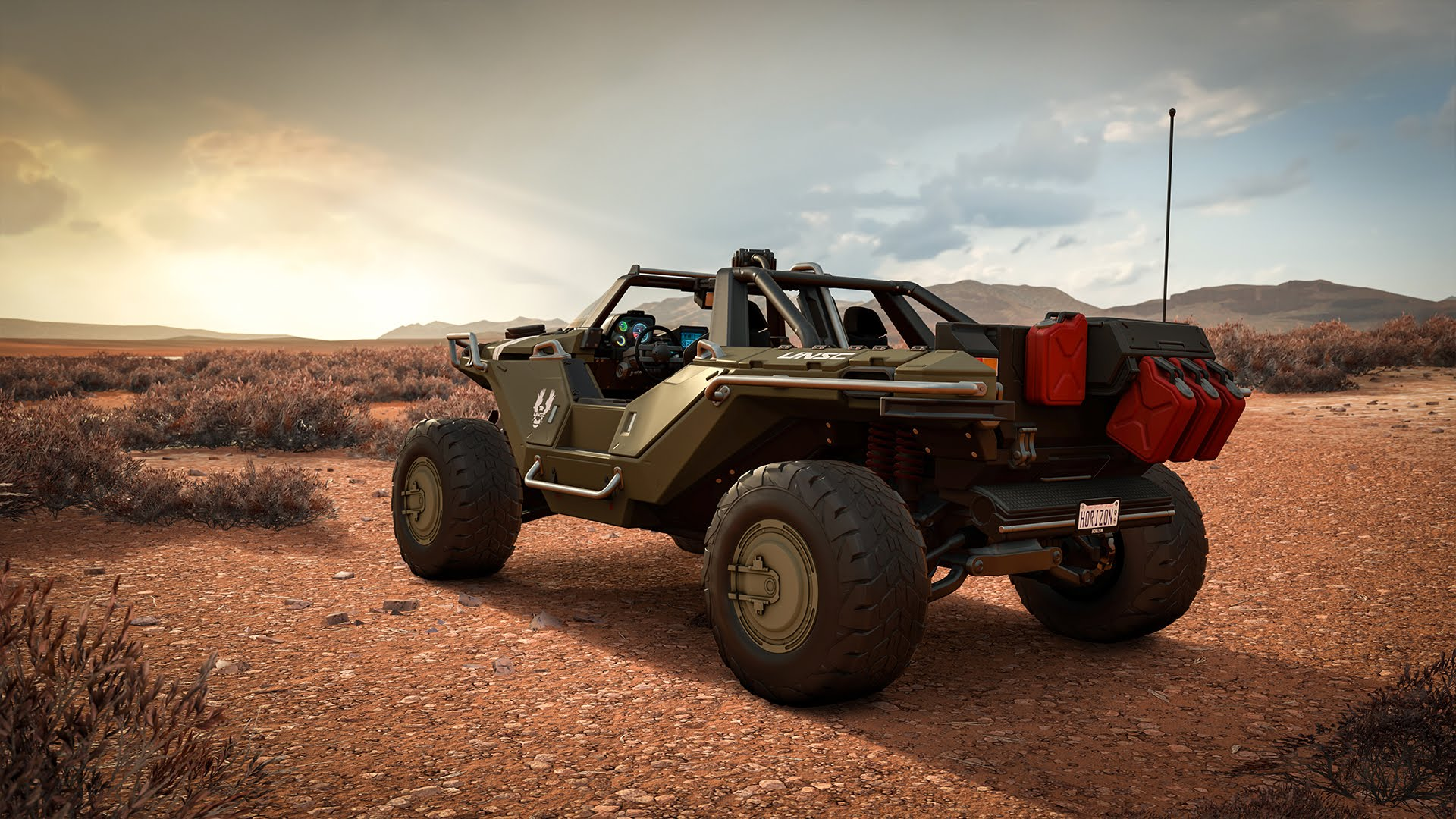 Halo players to receive free Warthog in Forza Horizon 3