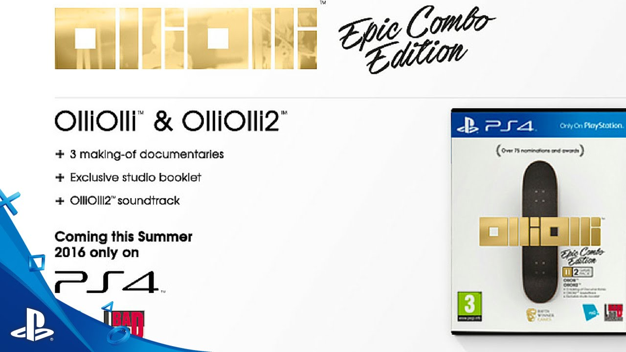 OlliOlli: Epic Combo Edition – Launch Trailer