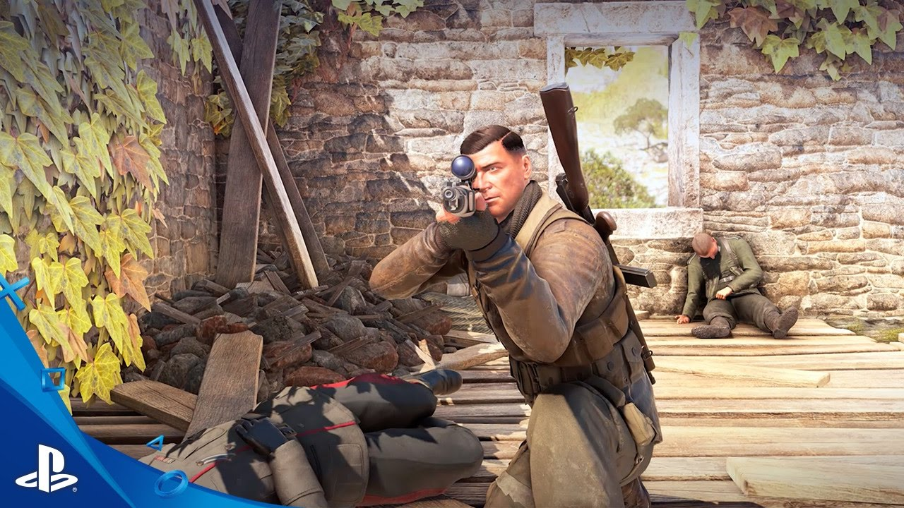 Sniper Elite 4 – First Gameplay & Target Führer Teaser Trailer