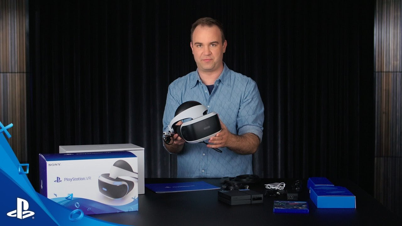 Unboxing the PlayStation VR