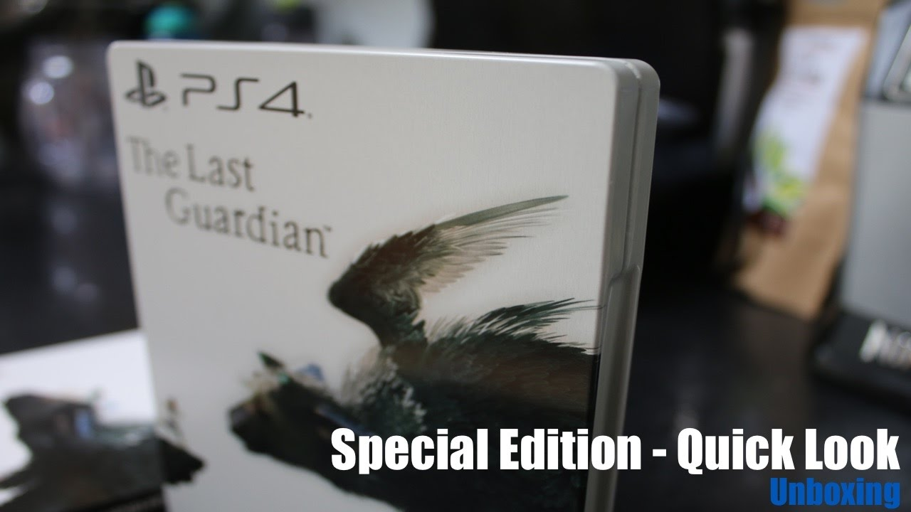 The Last Guardian – Special Edition Unboxing