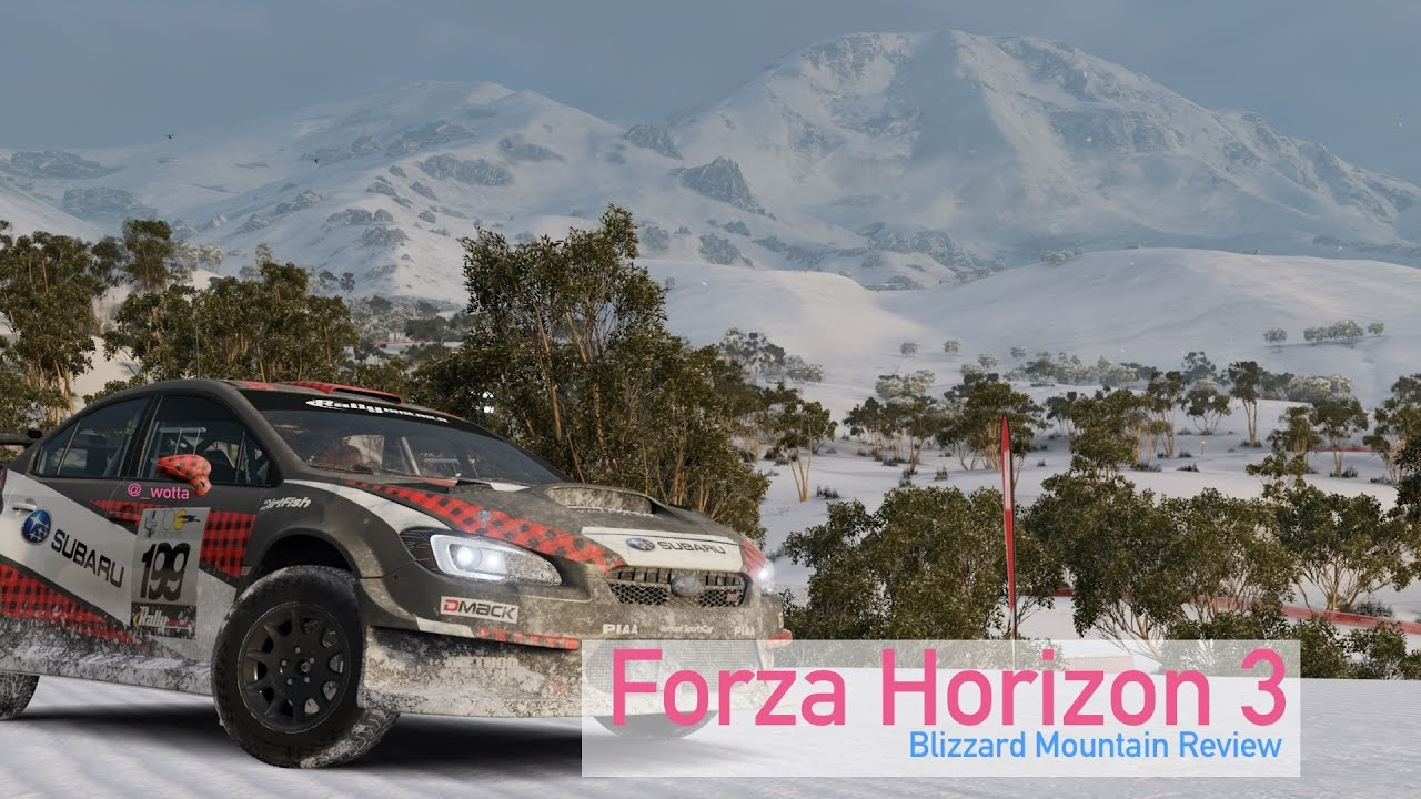 Forza Horizon 3: Blizzard Mountain DLC Xbox One Review