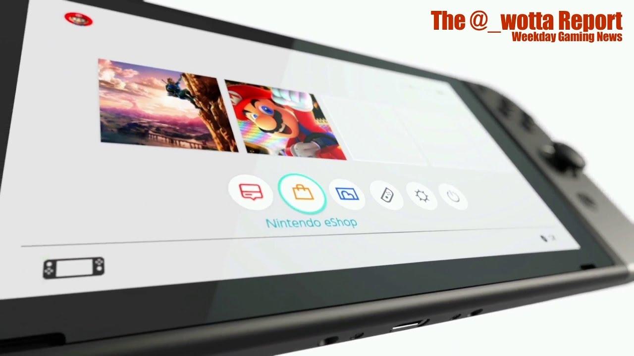 Nintendo Switch News – Weekday Gaming News – Jan 13 2017