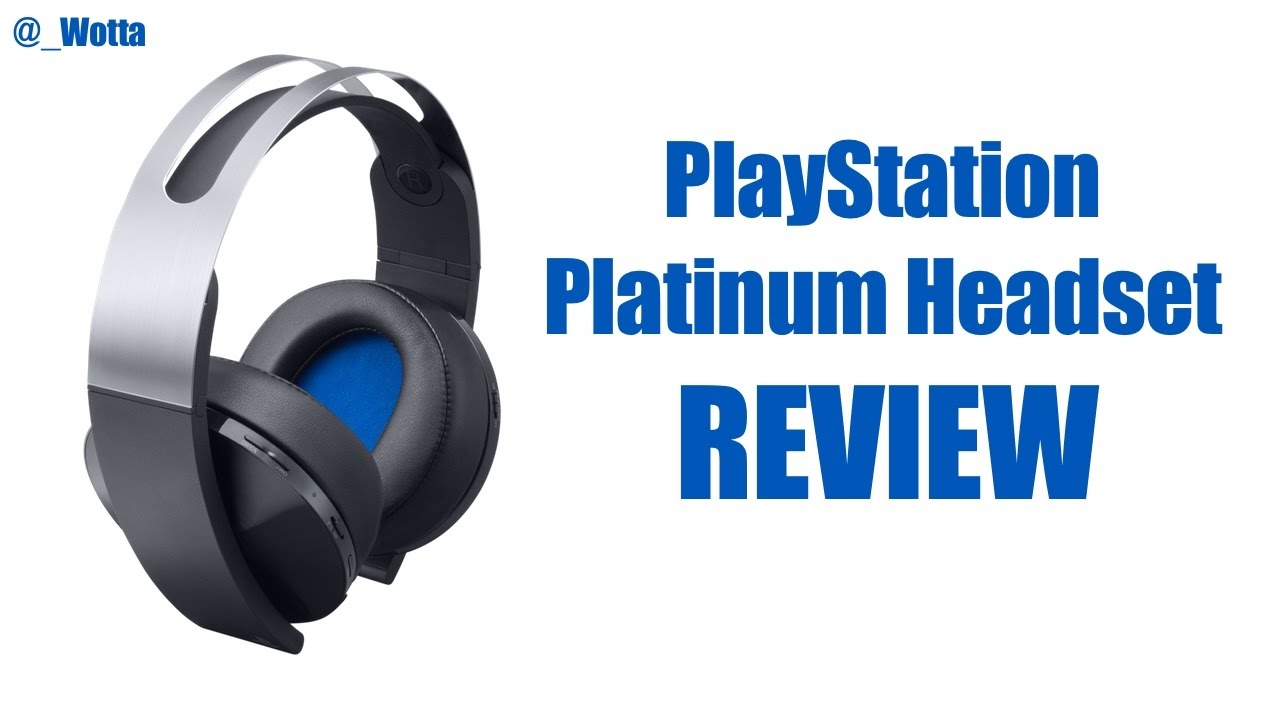 Sony PlayStation Platinum Headset PS4 Review