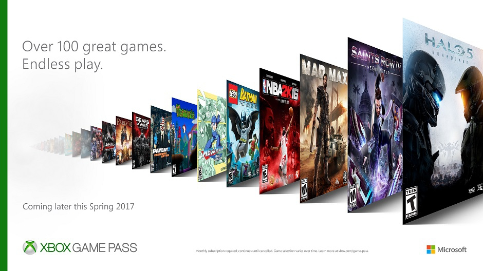 New Xbox One games subscription service revealed