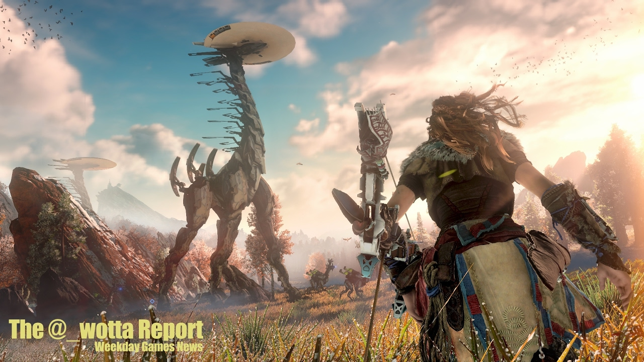 Horizon Zero Dawn Goes Gold – Weekday Gaming News – Jan 31 2017