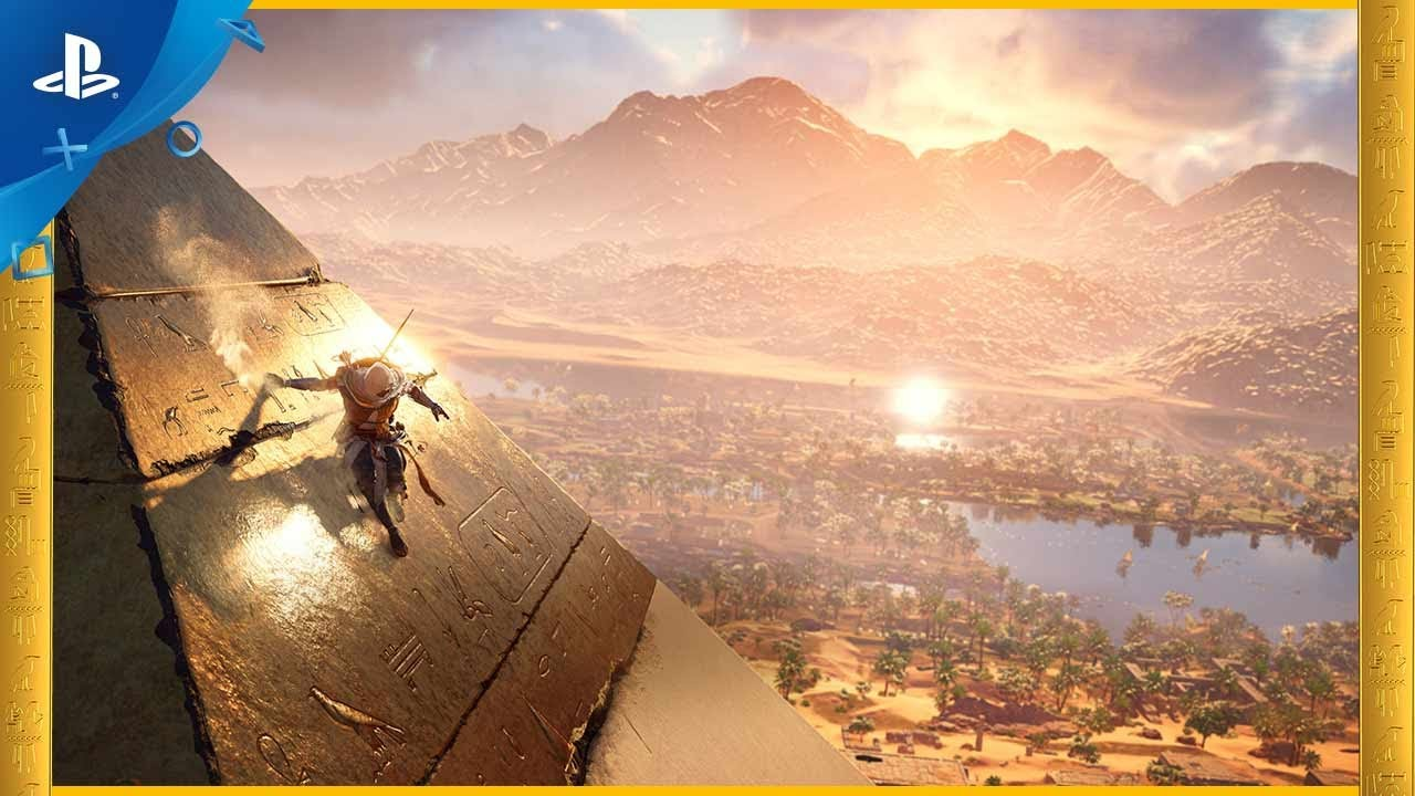 Assassin's Creed Origins – Ancient Egypt PS4 Trailer