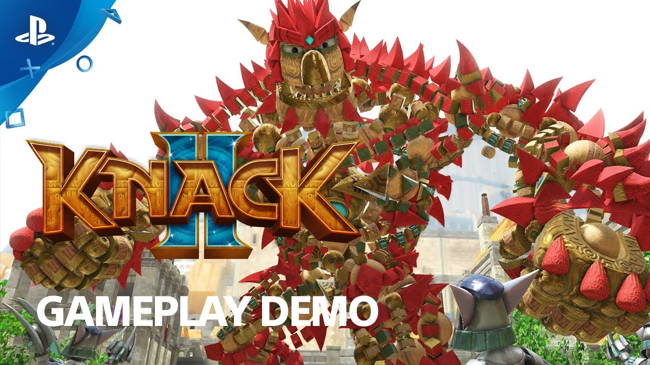 Knack 2 – PS4 Gameplay Demo