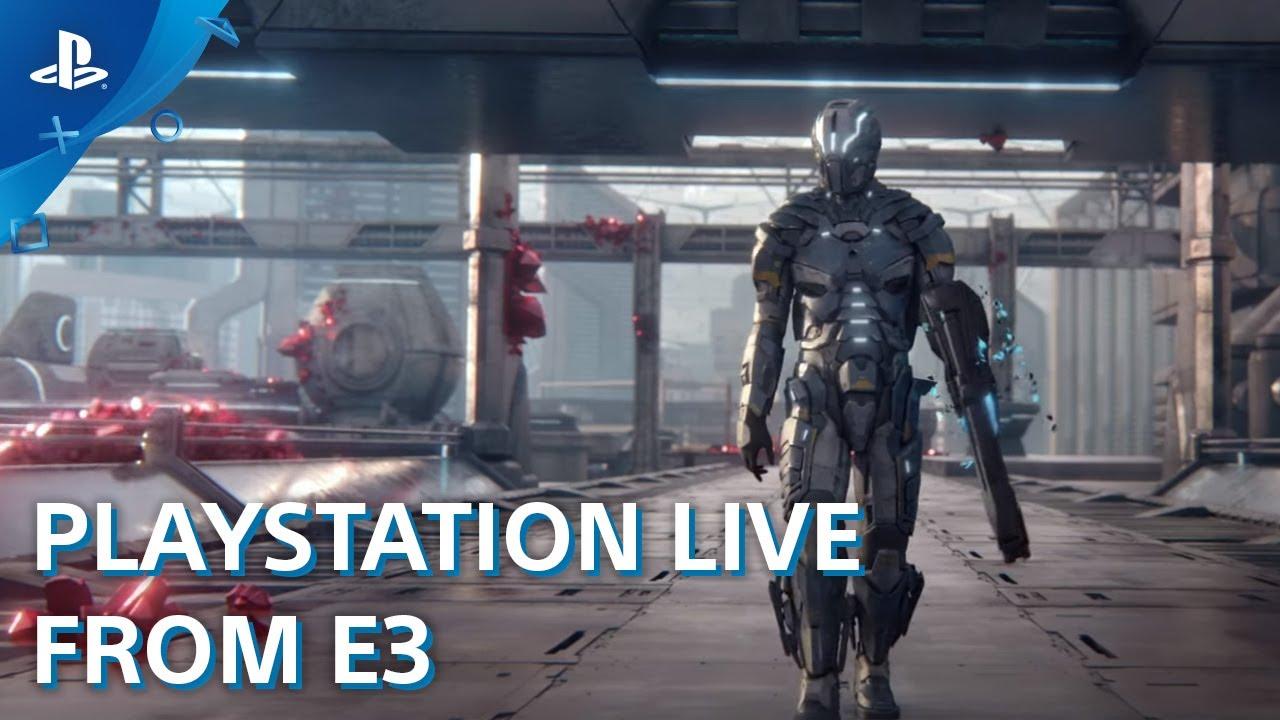 Matterfall – PS4 Gameplay Demo