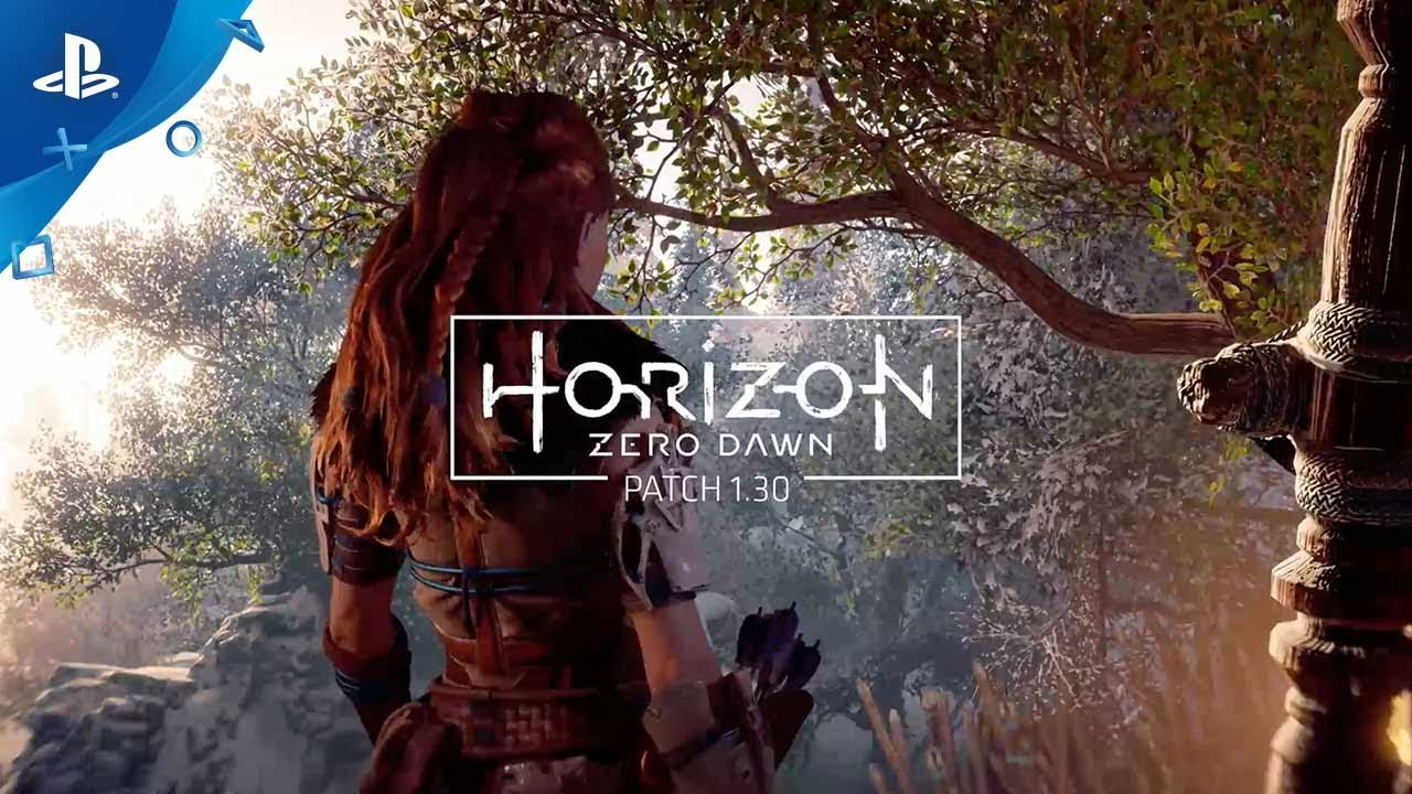 Horizon Zero Dawn – PATCH 1.30 Features
