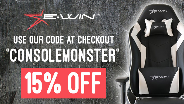 Get 15% off EWinRacing Chairs with code 'consolemonster' at checkout
