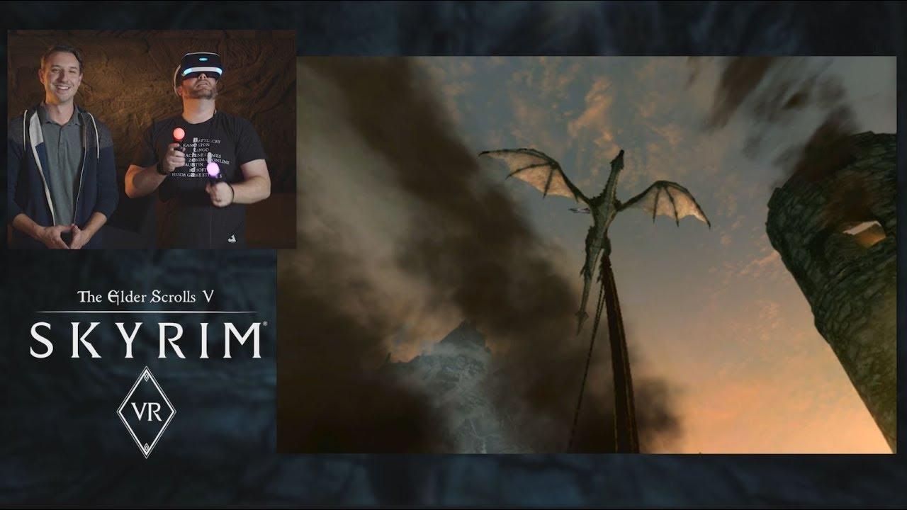 First Steps in Skyrim VR