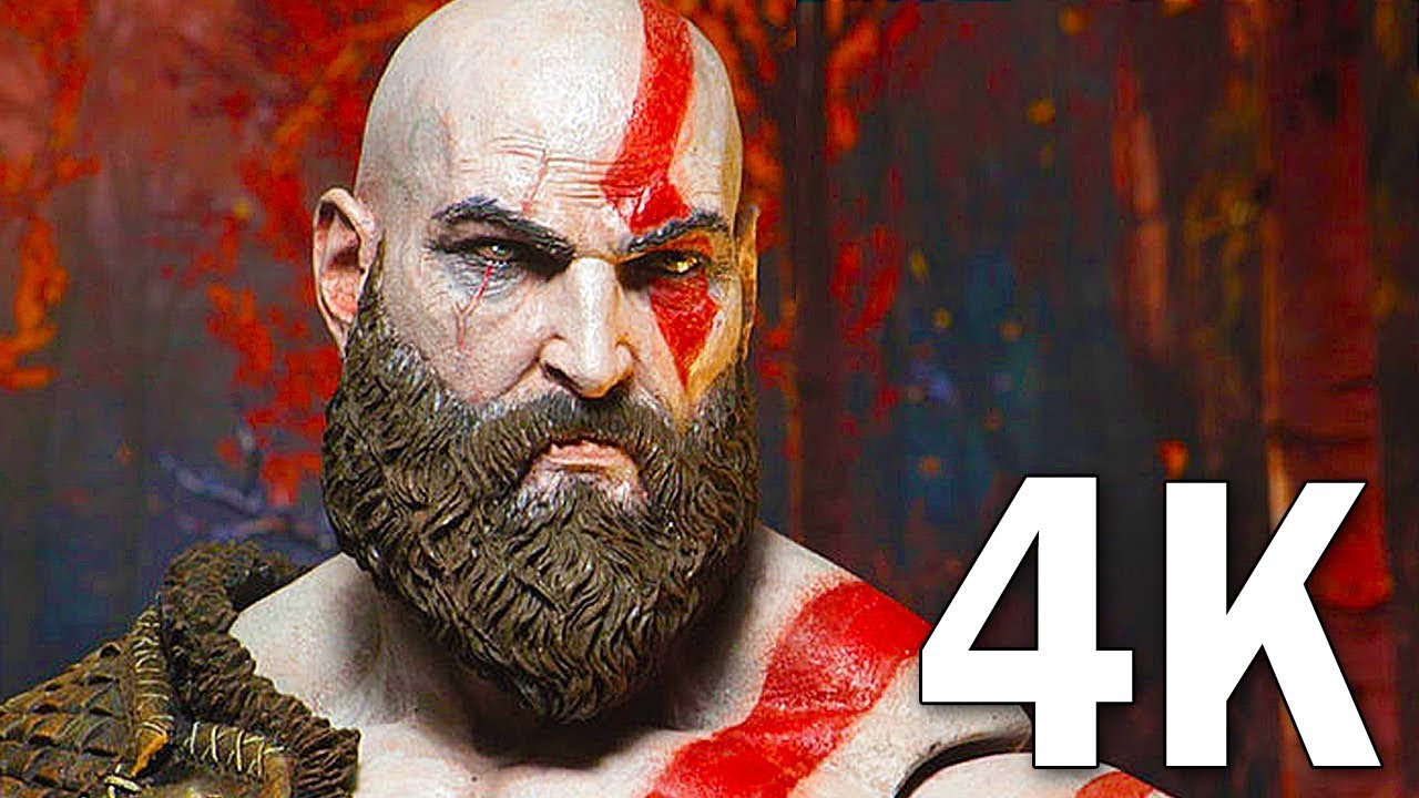 God of War 4 4K Gameplay