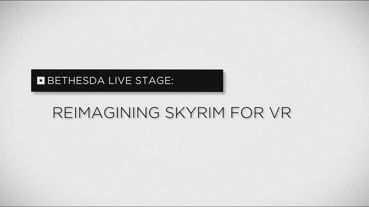 Reimagining Skyrim for VR