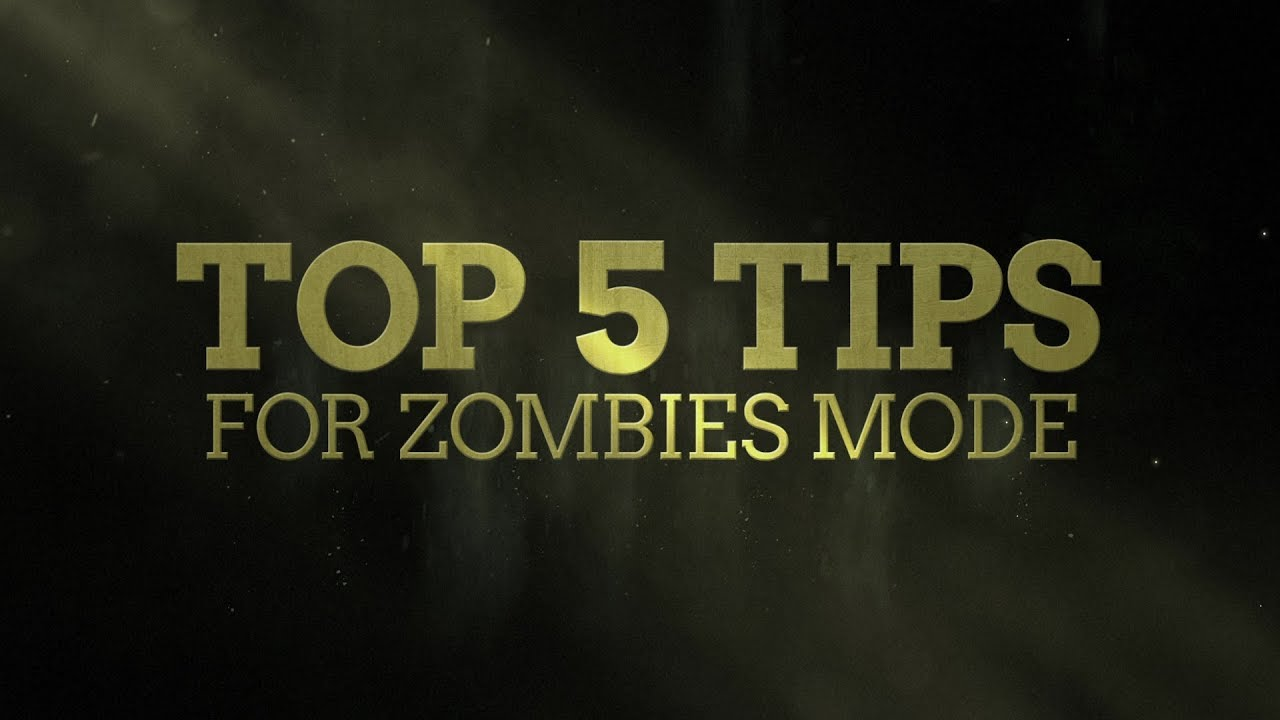 Top 5 Zombie Tips in Call of Duty WW2