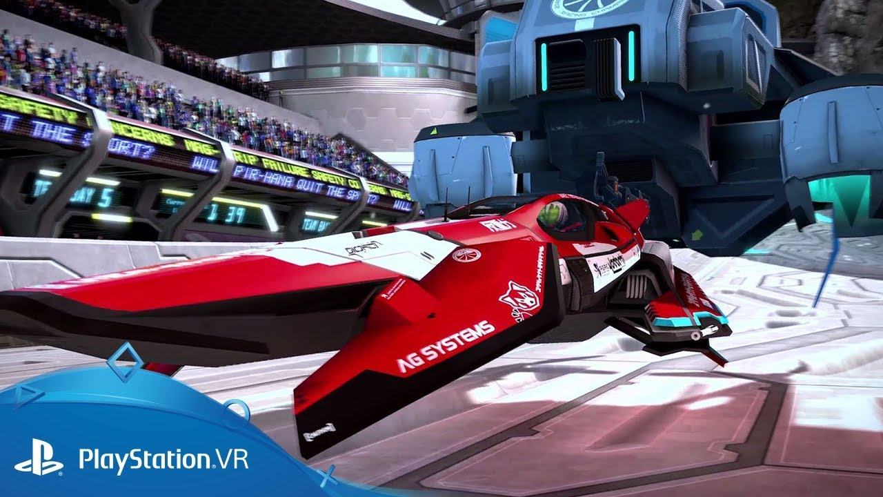 WipEout Omega Collection comes with VR!