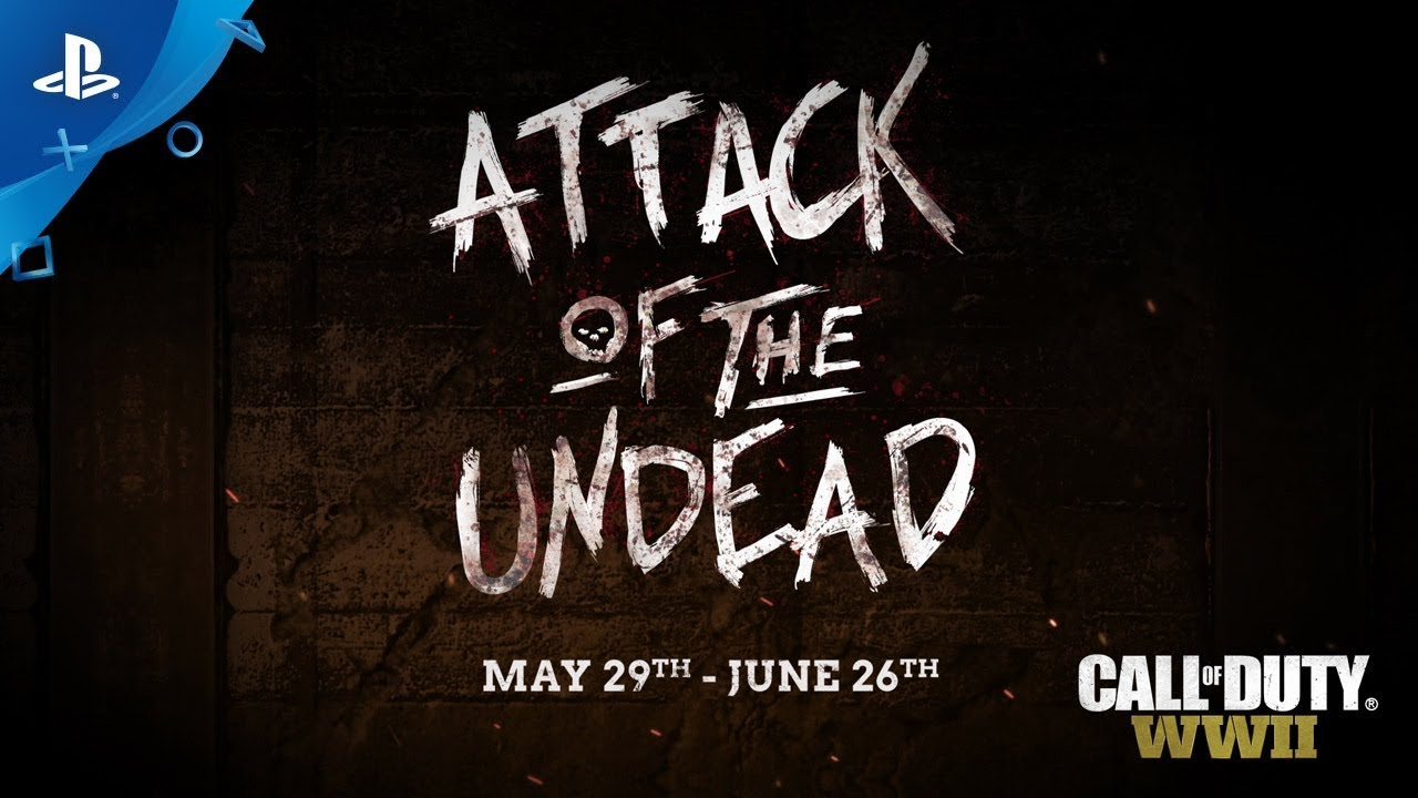 Call of Duty: WWII — 'Attack of the Undead!' Community Event Trailer