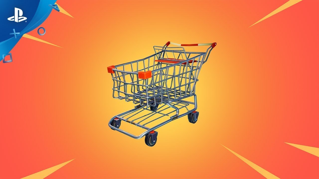 Fortnite – Shopping Carts: Play Now