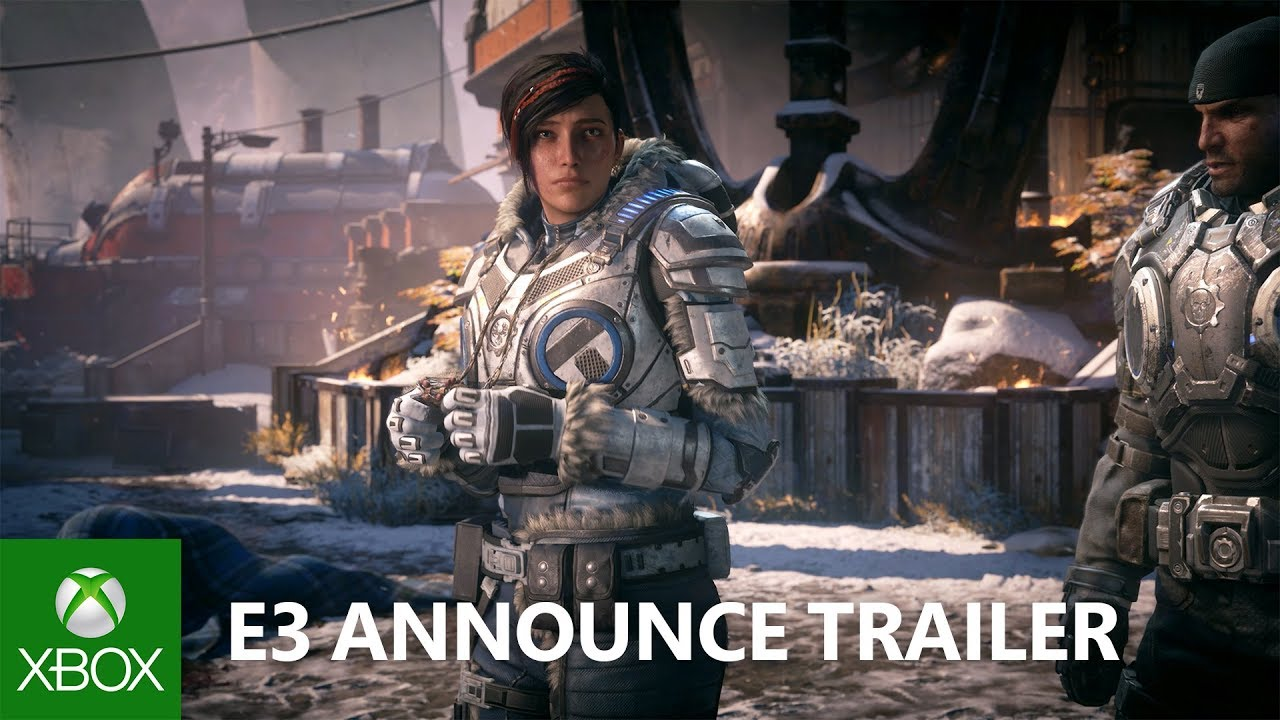 Gears 5 – E3 2018 – Announce Trailer