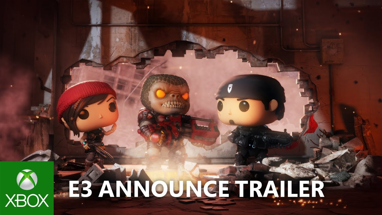 Gears POP! – E3 2018 – Announce Trailer