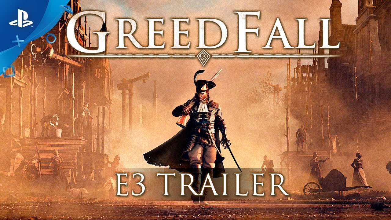GreedFall – E3 2018 Trailer