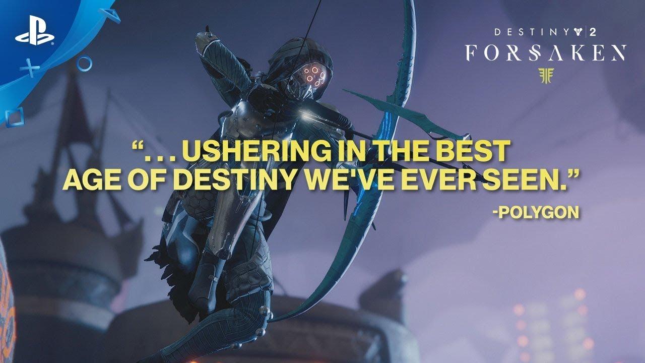 Destiny 2: Forsaken – Accolades Trailer