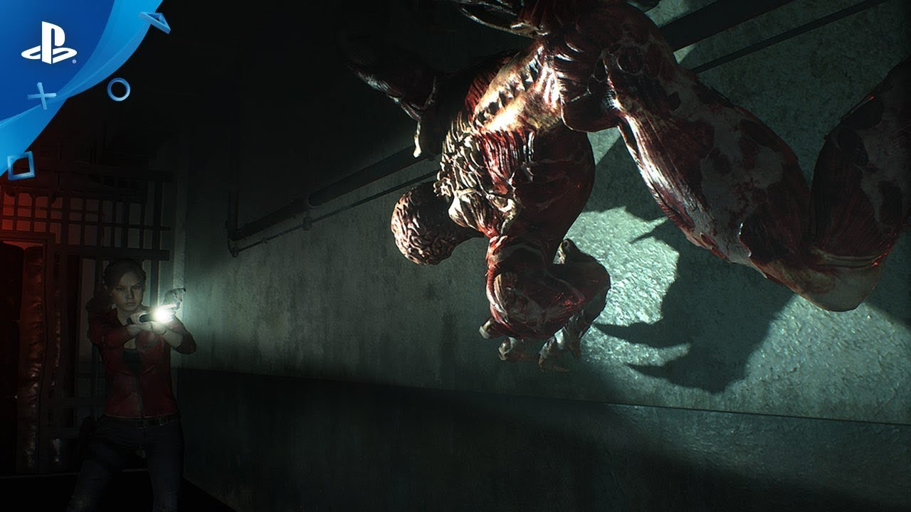 Resident Evil 2 Remake – Licker Battle Trailer