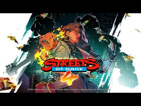 Streets of Rage 4 – Gameplay Teaser Trailer