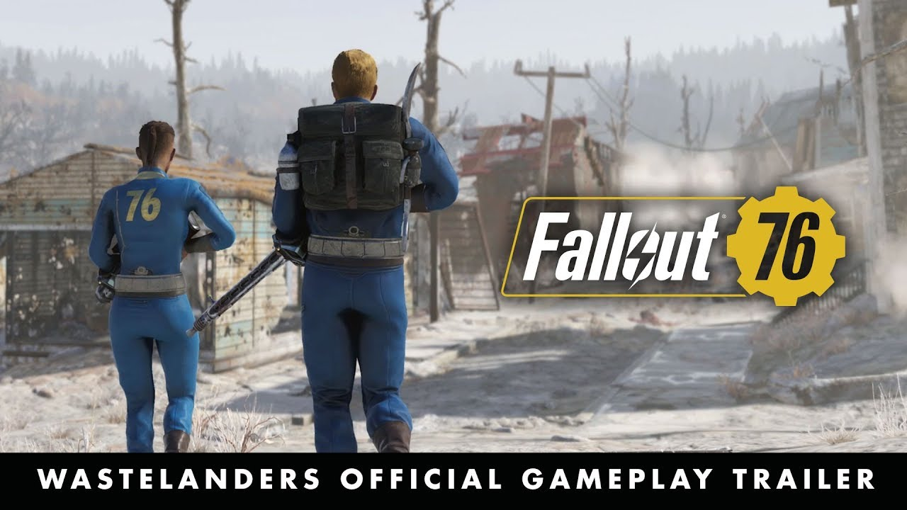 Fallout 76 – Official E3 2019 Wastelanders Gameplay Trailer