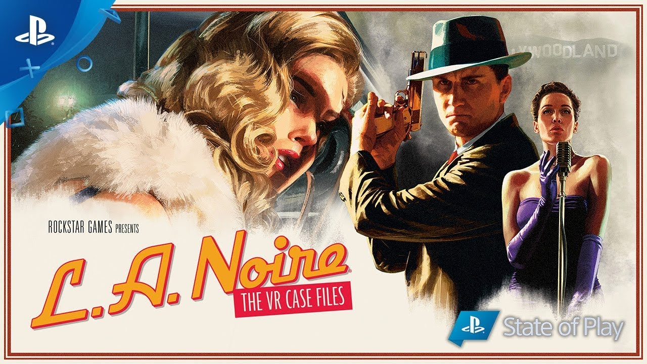 L.A. Noire: The VR Case Files Trailer