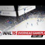 NHL 15 – Overhead Gameplay