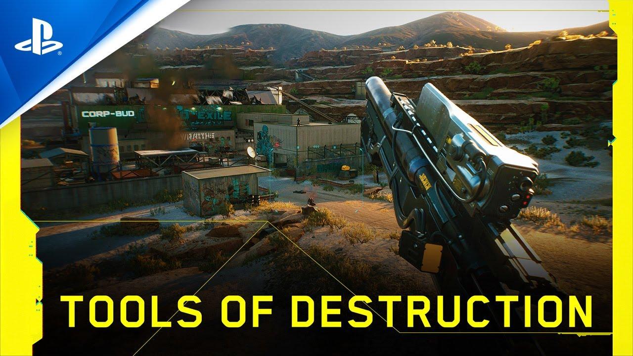 Cyberpunk 2077 – Tools of Destruction