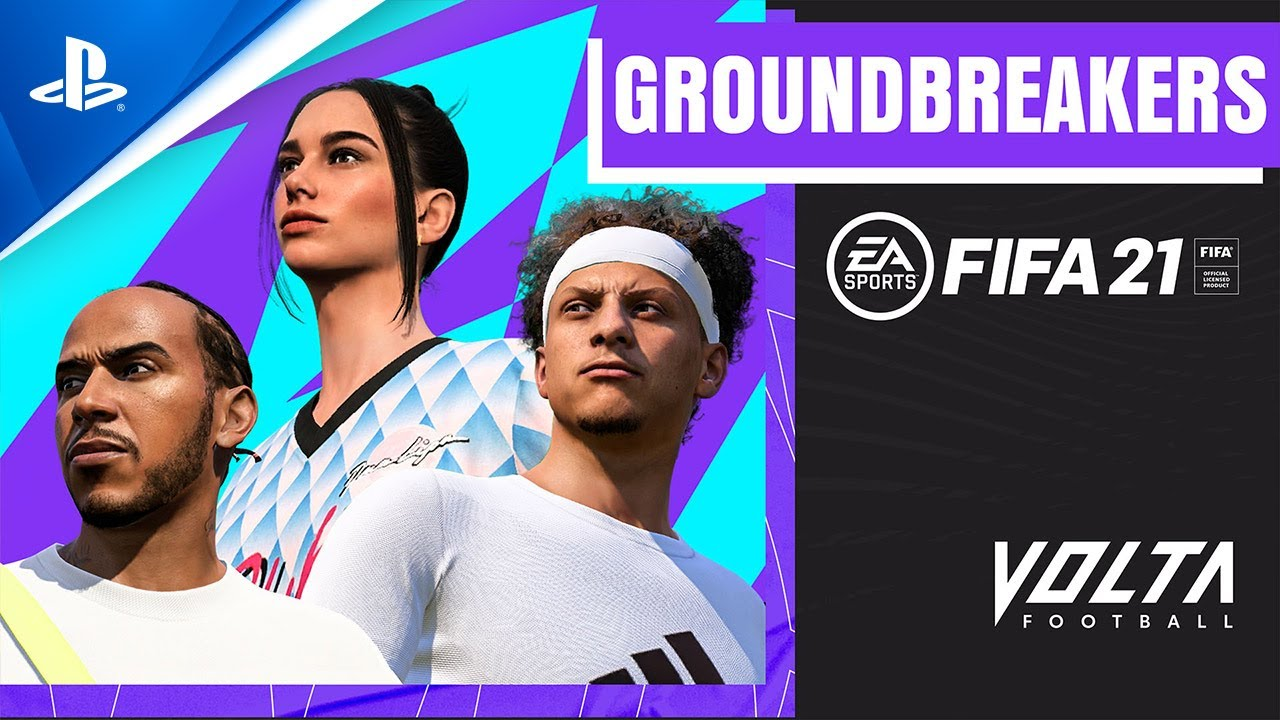 FIFA 21 – New VOLTA Groundbreakers