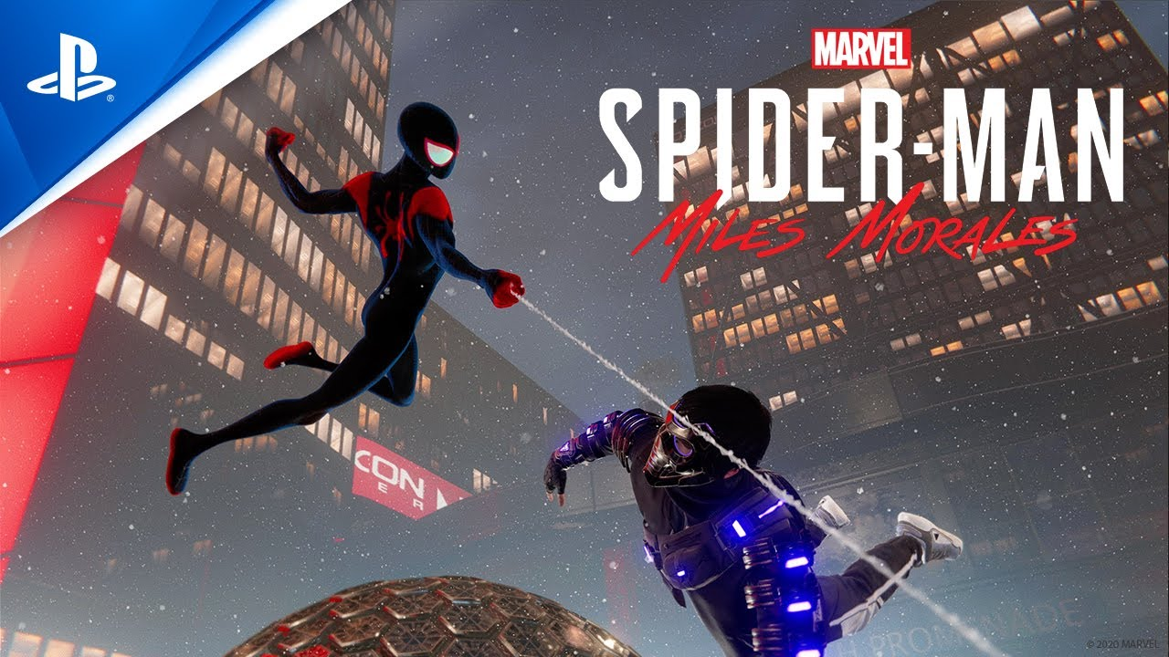 "Marvel's Spider-Man: Miles Morales – ""Spider-Man: Into the Spider-Verse"" Suit Announce"
